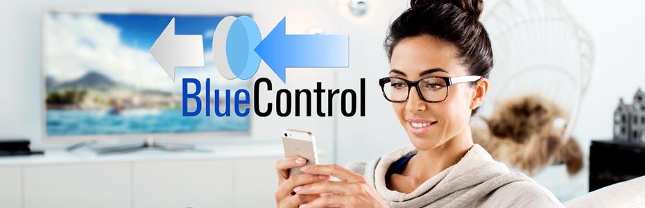 عدسی blue protect