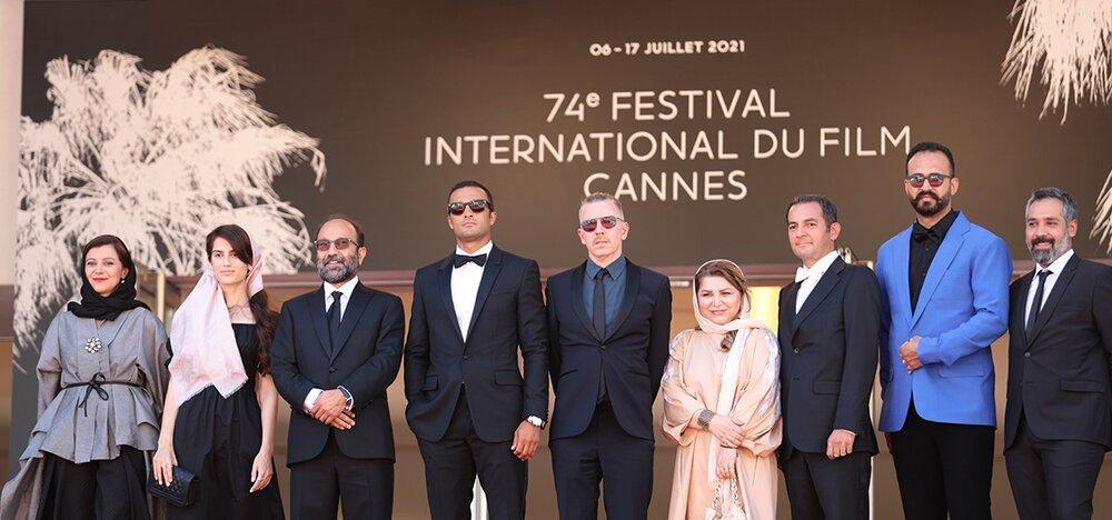 عینک امیر جدیدی در جشنواره فیلم کن 2021