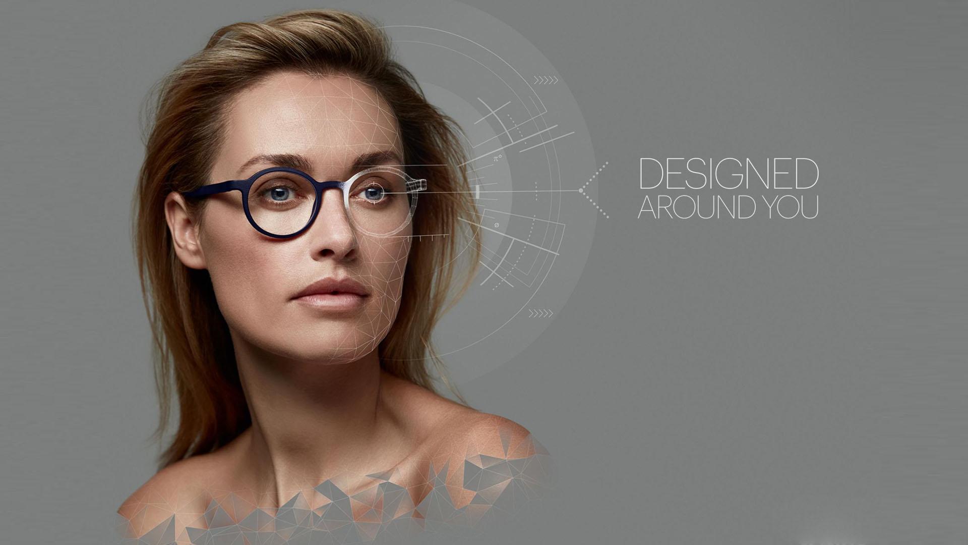 عینک شخصی سازی شده با پرینت 3 بعدی توسط هویا