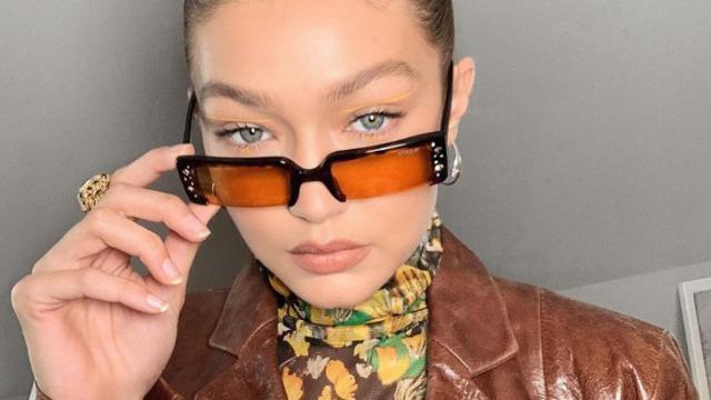 عینک آفتابی به سبک جی جی حدید