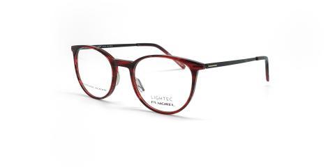 عینک طبی لایتک -  LIGHTEC 330087L - عکاسی وحدت - مشکی - عکس زاویه سه رخ