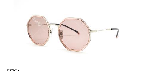 عینک آفتابی چند ضلعی زنانه لنا - LENA LE148 - زاویه سه رخ