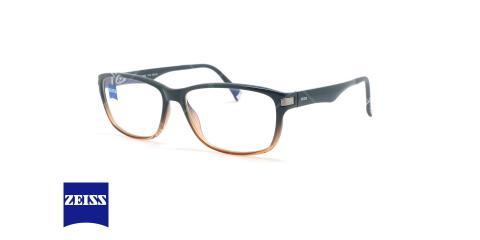 عینک کائوچویی مستطیلی زایس ZEISS ZS10003 - مشکی قهوه ای - عکاسی وحدت - زاویه سه رخ