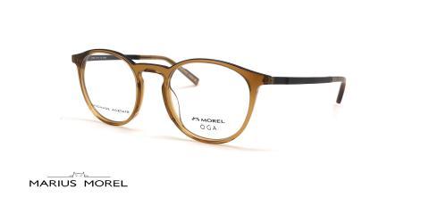 عینک طبی گرد اوگا - OGA 10138O - عکس از زاویه سه رخ