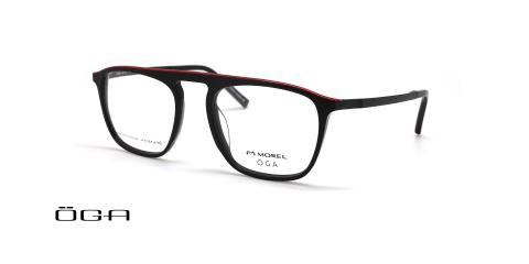 عینک طبی کائوچویی اوگا - OGA 10139O - عکس از زاویه سه رخ