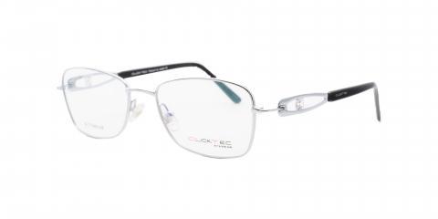 عینک فلزی تیتانیوم کلیک تک - زاویه سه رخ - عکاسی وحدت