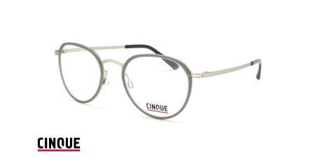 عینک طبی بیضی ویستان VISTAN CINCUE 11018 - طوسی - عکاسی وحدت - زاویه سه رخ