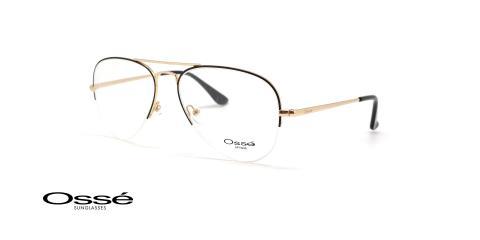عینک طبی زیرگریف خلبانی اوسه - OSSE OS12414 - عکاسی وحدت - عکس زاویه سه رخ