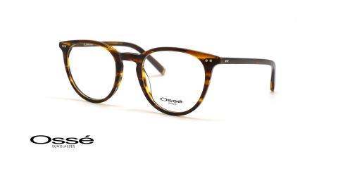 عینک کائوچویی گرد اوسه - OSSE OS12470 - عکاسی وحدت - عکس زاویه سه رخ