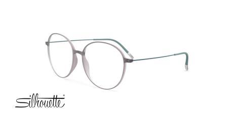 عینک طبی گرد سیلوئت - Silhouette 1587 - عکس زاویه سه رخ