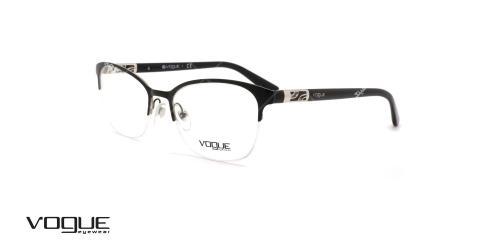 عینک طبی زیرگریف وگ - VOGUE VO4067  - عکاسی وحدت - عکس زاویه سه رخ