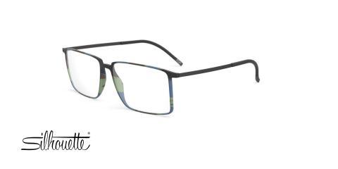 عینک طبی مستطیلی سیلوئت - Silhouette 2919 - عکس زاویه سه رخ
