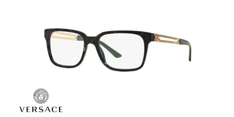 عینک طبی ورساچه - VERSACE VE3218 - عکاسی وحدت - عکس زاویه سه رخ