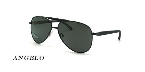 عینک آفتابی خلبانی آنجلو - ANGELO 8504 - رنگ مشکی - عکاسی وحدت - عکس زاویه سه رخ