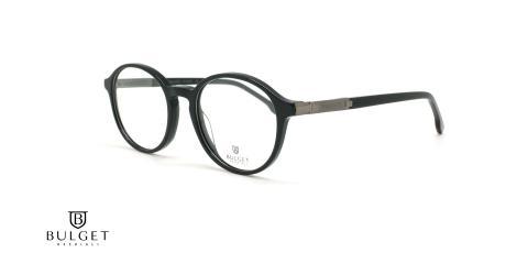 عینک طبی گرد کائوچویی بولگت - BULGET BG6215 - عکاسی وحدت - عکس زاویه سه رخ
