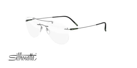 عینک طبی گریف سیلوئت - Silhouette 5500 - عکس زاویه سه رخ