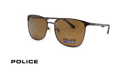 عینک آفتابی پولاریزه پلیس - POLICE  SPL681G- مشکی - عکاسی وحدت - زاویه سه رخ