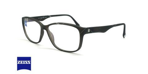عینک طبی کائوچویی زایس ZEISS ZS10005 - مشکی - عکاسی وحدت - زاویه سه رخ