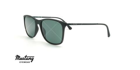 عینک آفتابی مربعی موستانگ - MUSTANG MU1759 - مشکی - عکاسی وحدت - زاویه سه رخ