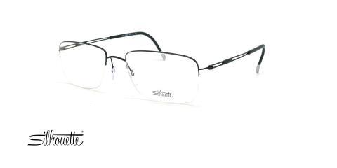 عینک طبی زیرگریف مدل Silhouette Tng Nylor 5279 - مشکی - عکاسی وحدت - زاویه سه رخ