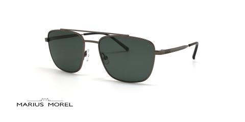 عینک آفتابی مردانه مربعی مورل - MARIUS MOREL 80054A - عکس از زاویه سه رخ