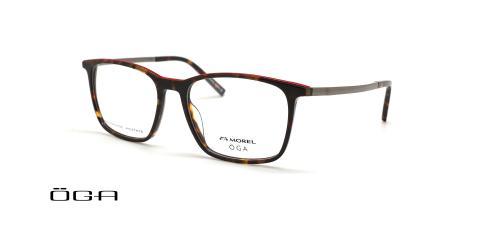 عینک طبی مستطیل اوگا - OGA 10141O - عکس از زاویه سه رخ