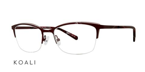 عینک طبی گربه ای کوالی - KOALI 20036K - اپتیک وحدت - عکس زاویه سه رخ