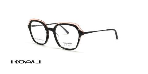عینک طبی مربعی کوالی مایروس مورل -  KOALI 20087K -عکس از زاویه سه رخ