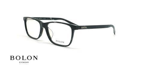 عینک طبی مستطیلی بولون - BOLON BJ1211 - مشکی - عکاسی وحدت - زاویه سه رخ