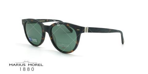 عینک آفتابی پلاریزه ماروس مورل- Marius Morel 2234M-قهوه ای هاوانا- عکاسی وحدت - زاویه سه رخ