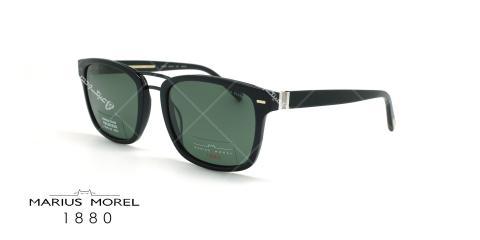 عینک آفتابی پلاریزه ماروس مورل- Marius Morel 2245M-مشکی- عکاسی وحدت - زاویه سه رخ