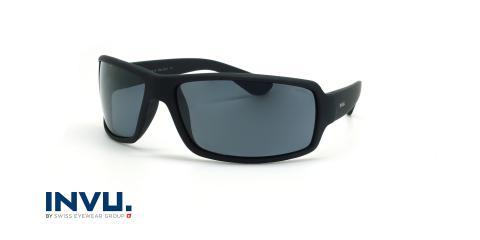 عینک آفتابی پلاریزه اینویو - Inviu  Polarized A2410 - مشکی - عکاسی وحدت - زاویه سه رخ