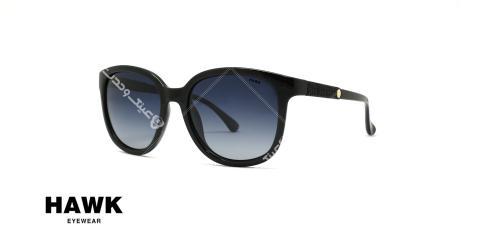 عینک آفتابی مربعی هاوک HAWK 1639- عکاسی وحدت - عکس از سه رخ