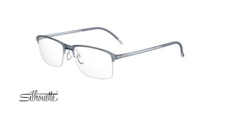 عینک طبی زیرگریف سیلوئت -2914 Silhouette SPX - طوسی - عکاسی وحدت - زاویه سه رخ
