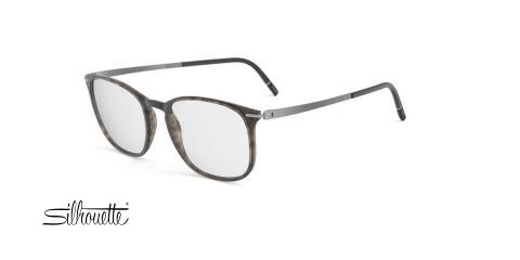 عینک طبی کائوچویی سیلوئت -2920 Silhouette SPX - طوسی هاوانا - عکاسی وحدت - زاویه سه رخ
