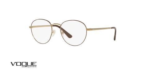 عینک طبی گرد وگ -  VOGUE VO4024 - عکاسی وحدت - عکس زاویه سه رخ