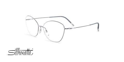 عینک طبی گربه ای سیلوئت - Silhouette 4554 - عکاسی وحدت - عکس زاویه سه رخ