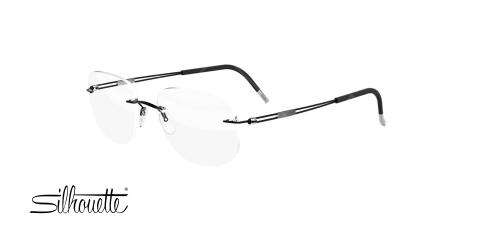 عینک طبی گریف سیلوئت - Silhouette 5521 - عکاسی وحدت - عکس زاویه سه رخ