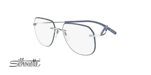 عینک طبی سیلوئت - Silhouette 5518FY- عکاسی وحدت - عکس زاویه سه رخ