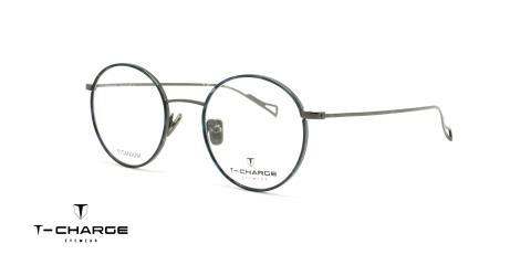 عینک طبی  گرد تی شارژ - TCharge T1253 - عکاسی وحدت - عکس زاویه سه رخ