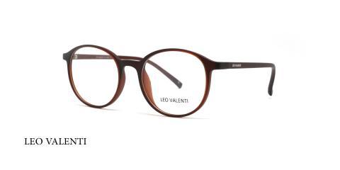 عینک طبی کائوچویی لئوولنتی - LEO VALENTI LV468- عکاسی وحدت - عکس زاویه سه رخ