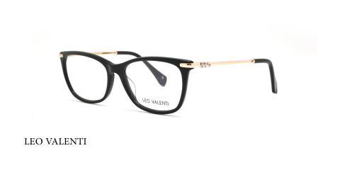 عینک طبی کائوچویی گربه ای لئوولنتی - LEO VALENTI LV552- عکاسی وحدت - عکس زاویه سه رخ