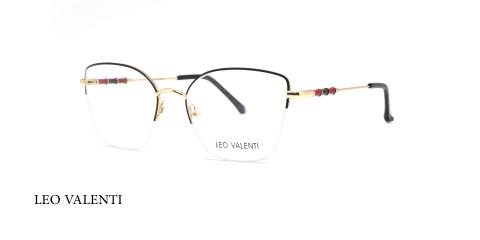 عینک طبی گربه ای زیر گریف لئوولنتی - LEO VALENTI LV558 - عکاسی وحدت - عکس زاویه سه رخ