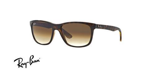 عینک آفتابی کائوچویی ری بن - RayBan RB4181 - عکس زاویه سه رخ