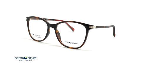 عینک طبی کائوچویی زنانه سنترواستایل _ Centrostyle F0059 - عکس از زاویه سه رخ