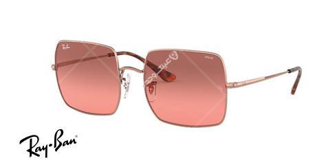 عینک آفتابی ری بن EVOLVE RB1971- فریم صورتی  و عدسی صورتی - اپتیک وحدت - عکس از زاویه سه رخ