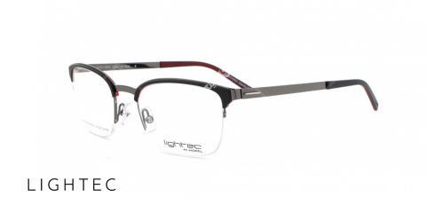 عینک طبی لایتک 300029L - اپتیک وحدت - عکس از زاویخ سه رخ