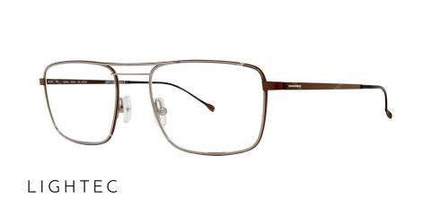 عینک طبی دوپل لایتک - LIGHTEC 30090- اپتیک وحدت - عکس از زاویه سه رخ