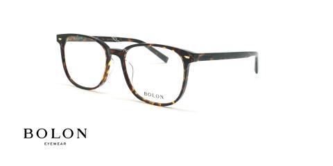 عینک طبی مربعی بولون - BOLON BJ3051 - قهوه ای هاوانا - عکاسی وحدت - زاویه سه رخ