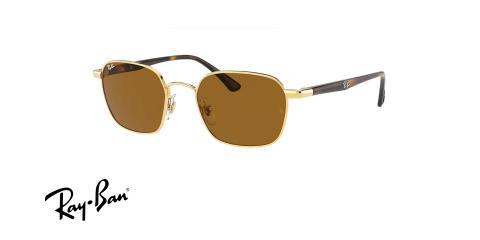 عینک آفتابی مربعی ری بن - Ray ban RB3664 - عکس از زاویه سه رخ